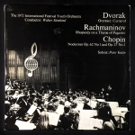 The 1972 International Festival Youth Orchestra